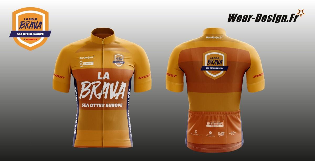 La Brava de Sea Otter Europe Costa Brava - Girona presenta su maillot oficial