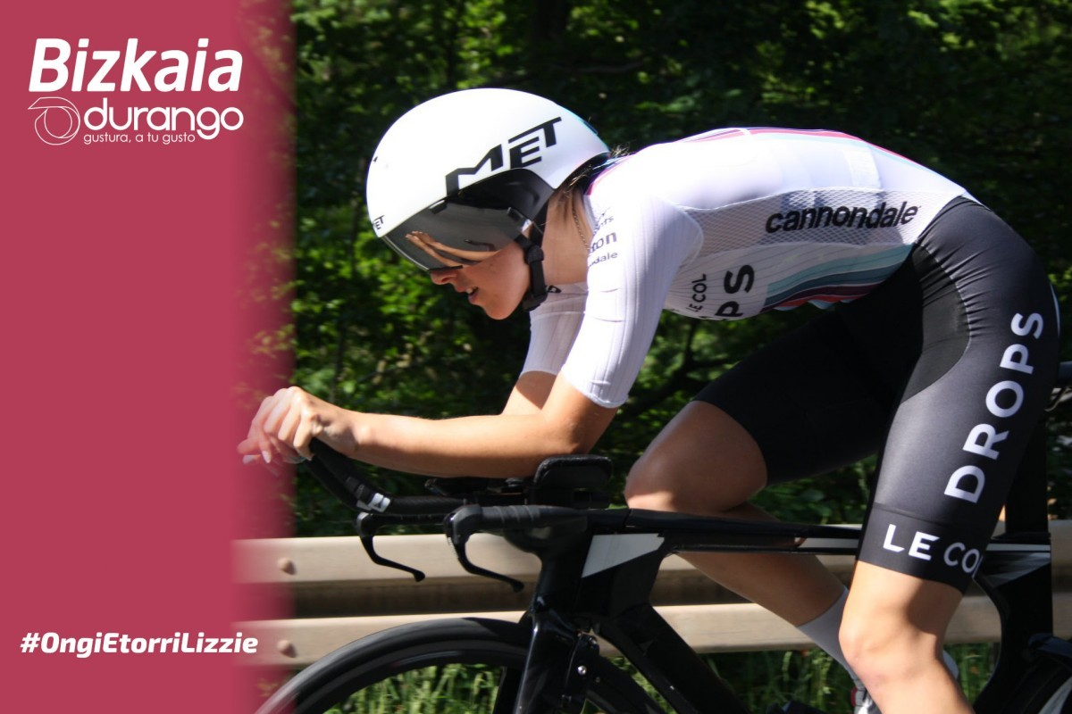 La británica Lizzie Holden nuevo refuerzo para el Bizkaia-Durango