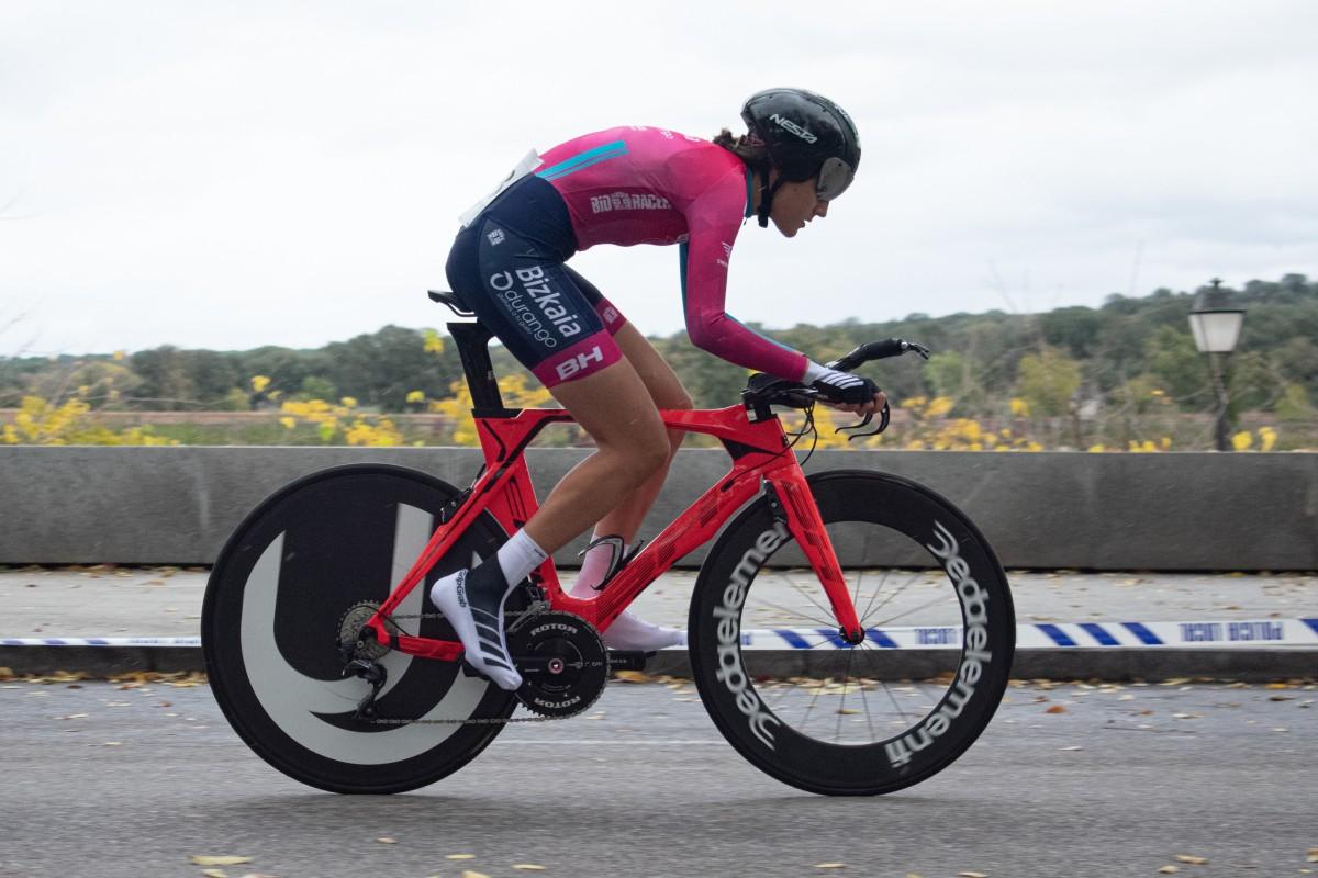 La ciclista de Québec Émilie Fortin correrá con Bizkaia-Durango en 2021