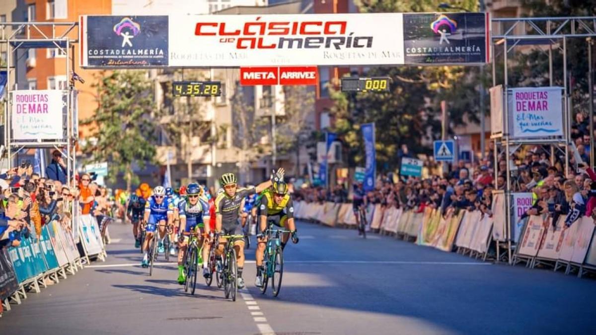 La Clásica de Almería espera a los sprinters este próximo domingo