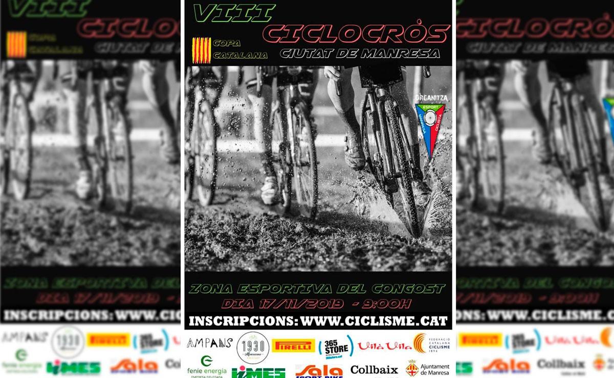 La Copa catalana de ciclocross alcanza su ecuador en Manresa