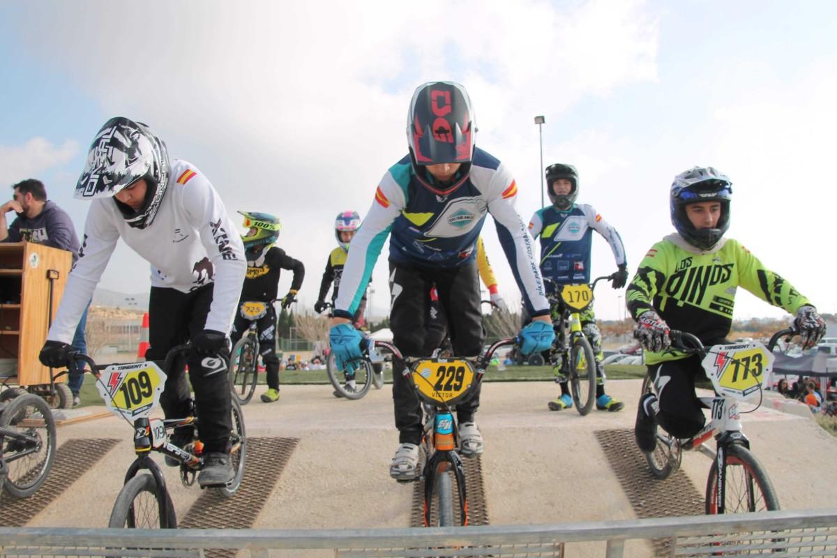 La Copa de España de BMX arrancó en Campello