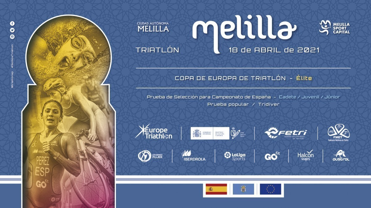La Copa de Europa de Triatlón iniciará la temporada 2021 en Melilla