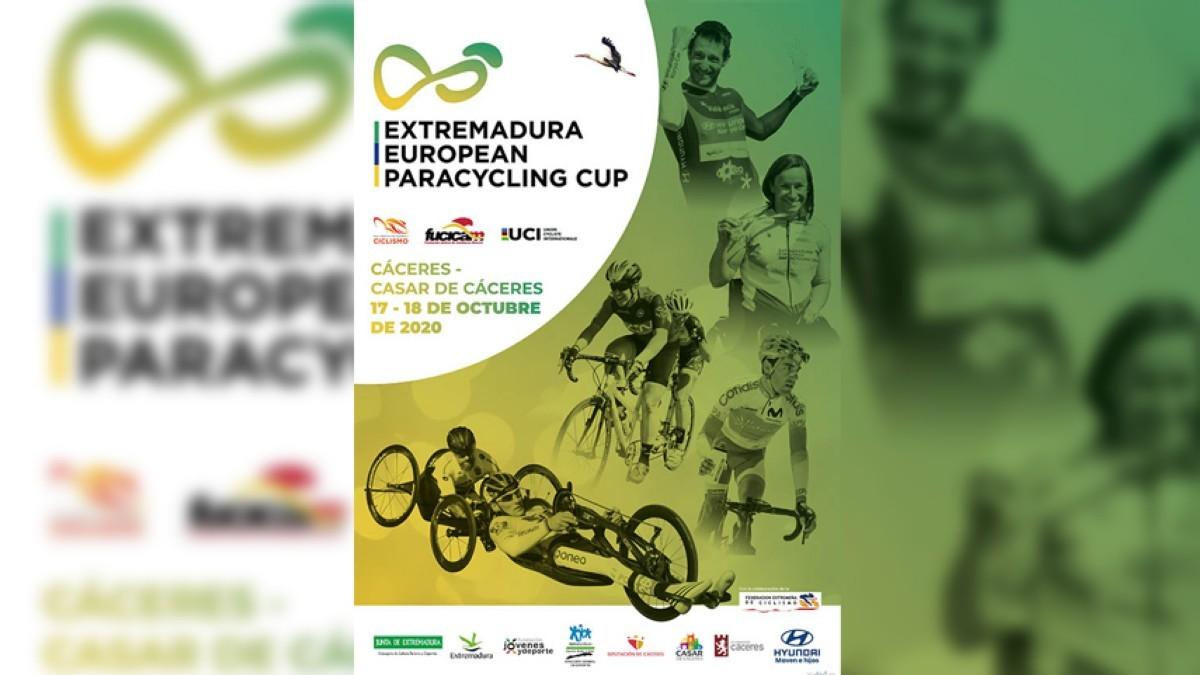 La Extremadura European Paracycling Cup en Cáceres