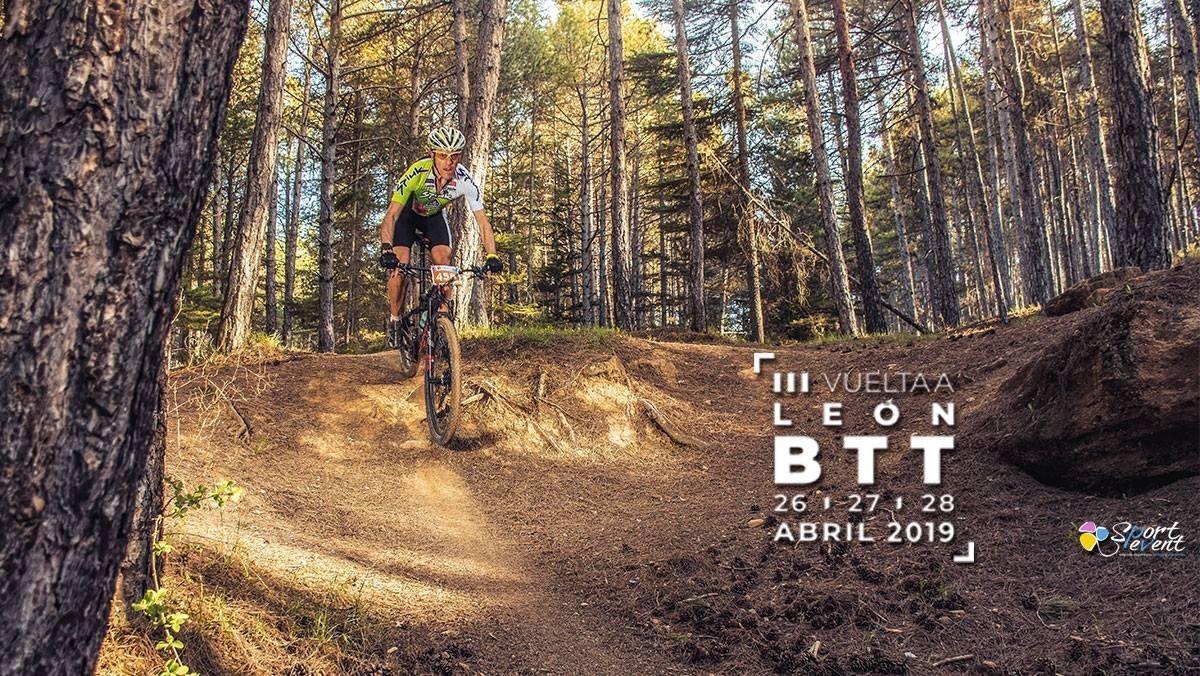 Jesús Calleja colabora con la Vuelta a León BTT