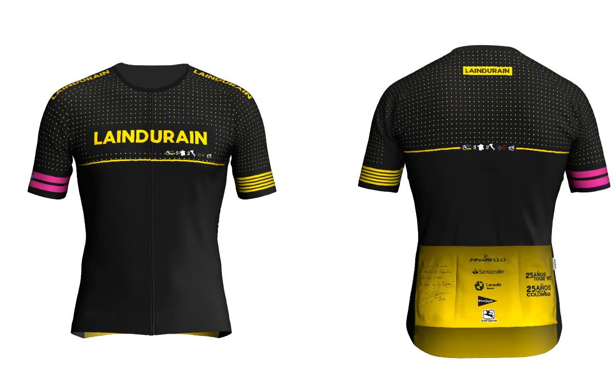La Indurain 2020 presenta su maillot oficial