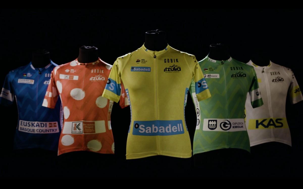 La Itzulia presenta sus maillots oficiales para la edición 2021