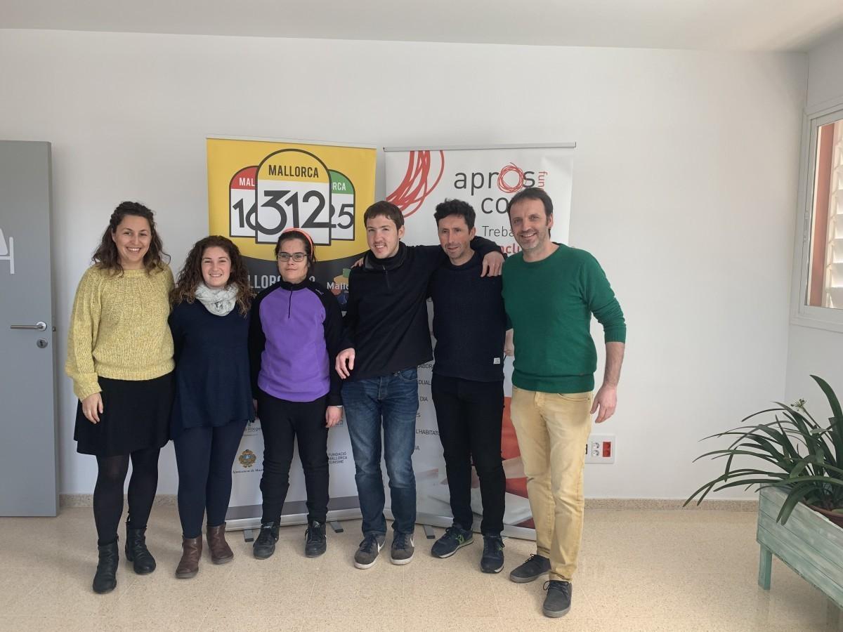 La Mallorca 312 colabora con Aproscom Fundació