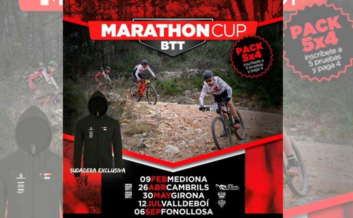 La Marathon Cup BTT 2020 contará con cinco sedes de nivel TOP