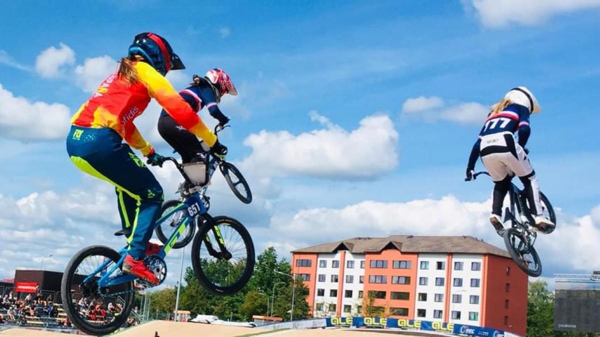 La Selección Española de BMX Racing al mundial de Zolder