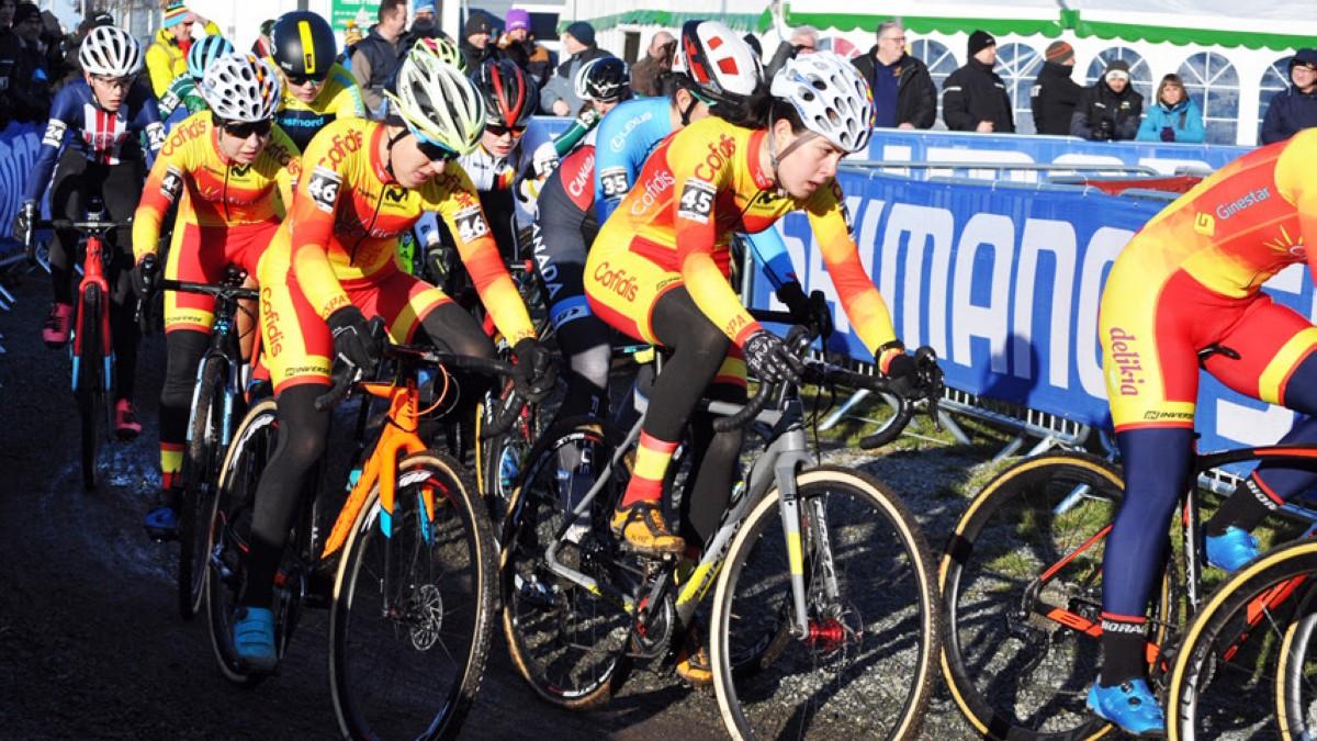 La selección preparada para el Mundial de ciclocross Dübendorf 2020