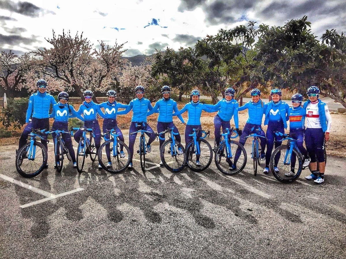 La Setmana Valenciana primera prueba por etapas 2019 para las azules de Movistar