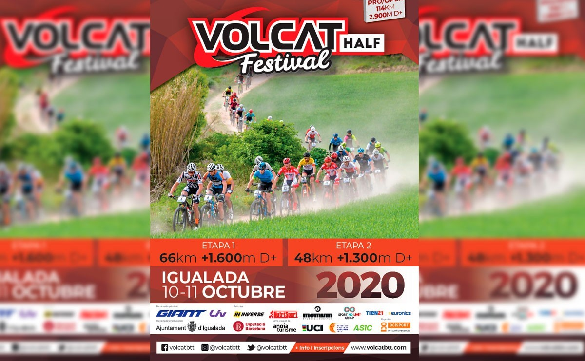 La VolCAT 2020 constará de solo dos etapas por el Covid19