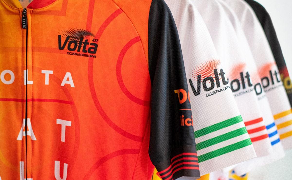 La Volta presenta los maillots oficiales de la edición 100