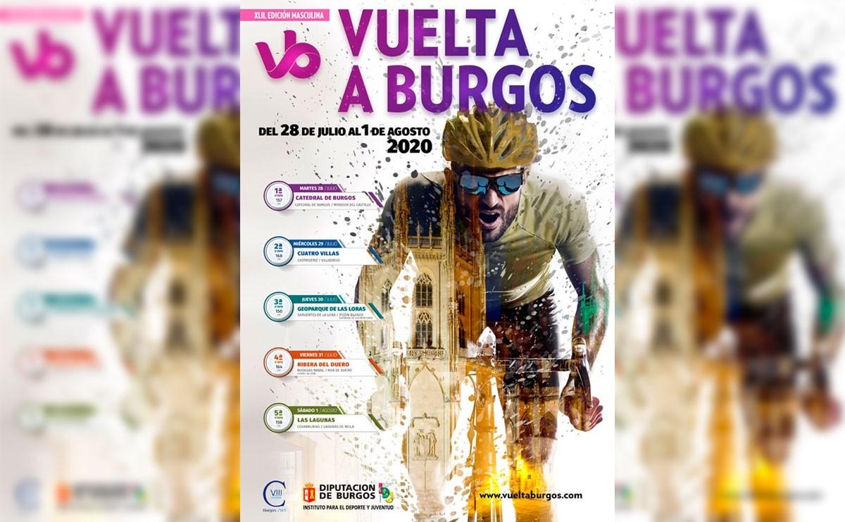 La Vuelta a Burgos 2020 presenta un espectacular cartel oficial