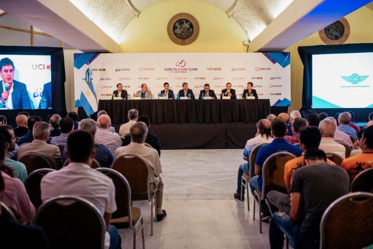 La Vuelta a San Juan contará con los mejores del mundo