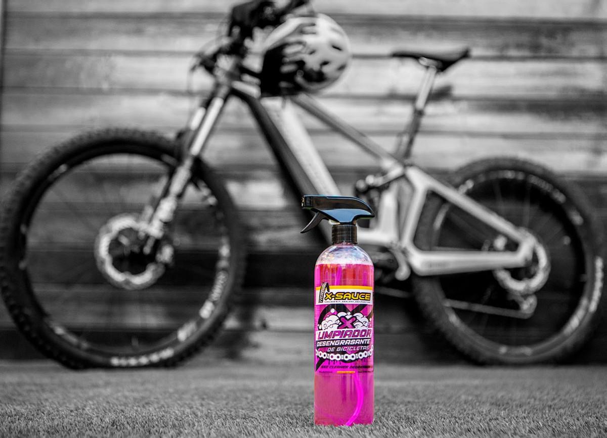 Lanzado el nuevo limpiador desengrasante para bicicletas de X-Sauce