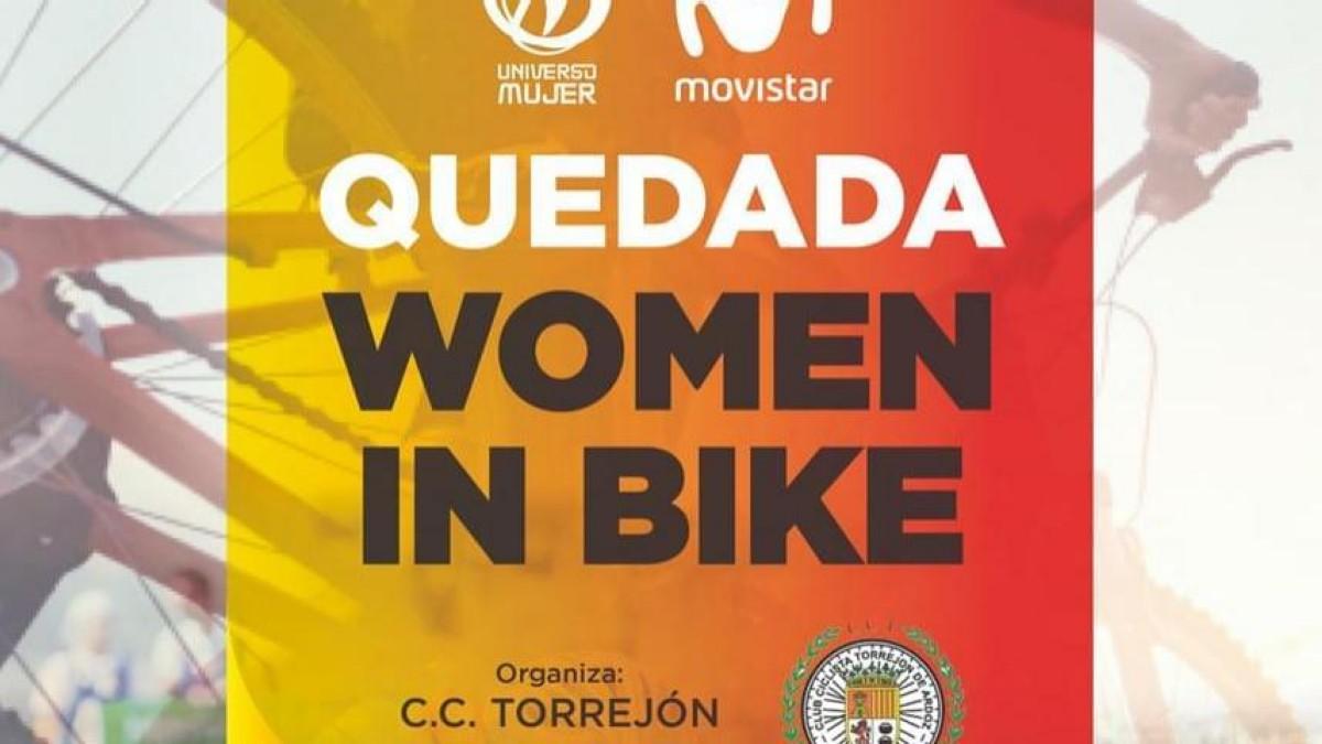 Las Quedadas Women in Bike se presentan en la Comunidad de Madrid