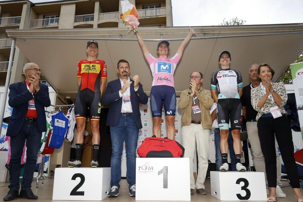 Leah Thomas conquista el Tour de Ardeche para Movistar Team