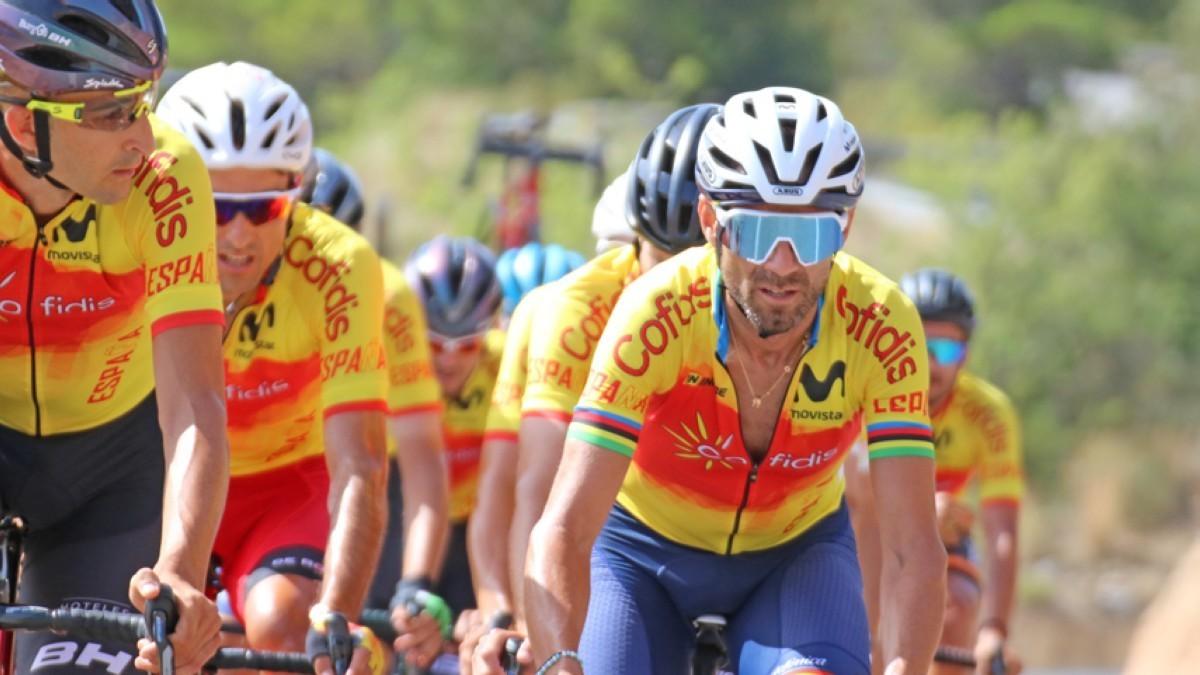 Lista definitiva de la selección española de ciclismo para el mundial de Imola