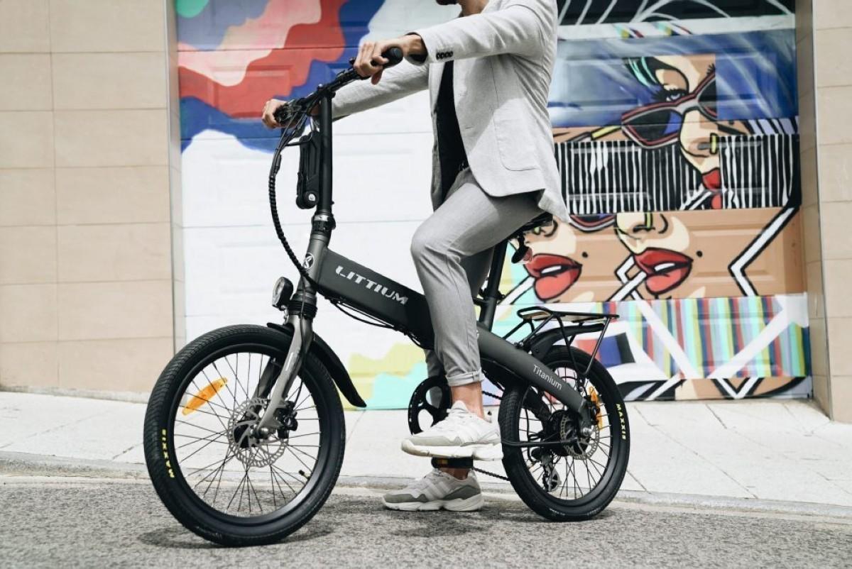 Littium lanza la Titanium su e-bike plegable más ambiciosa