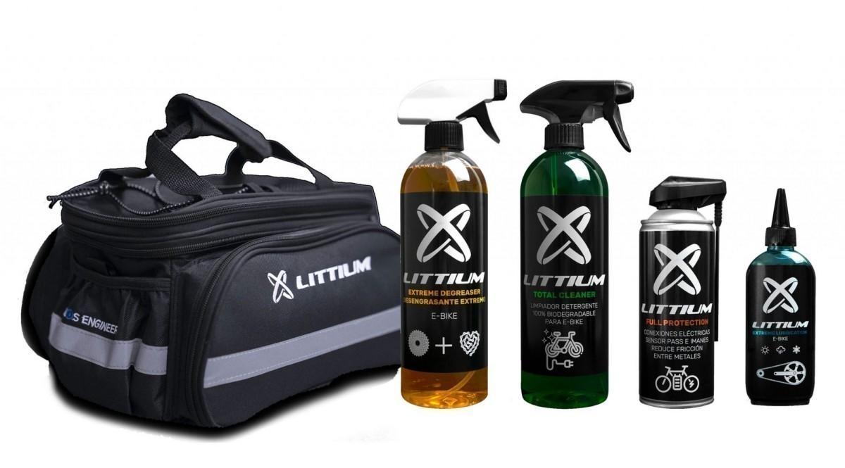 Littium lanza una oferta especial en sus productos para el cuidado de la bicicleta
