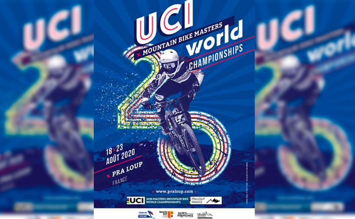 Los Campeonatos del mundo Masters BTT UCI 2020 se celebrarán en Pra Loup