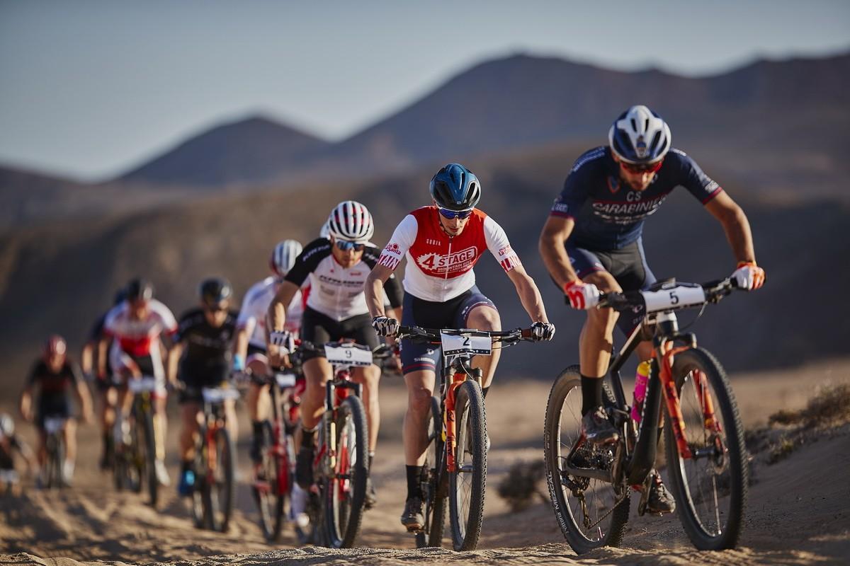Finalizó la  4 Stage MTB Race Lanzarote