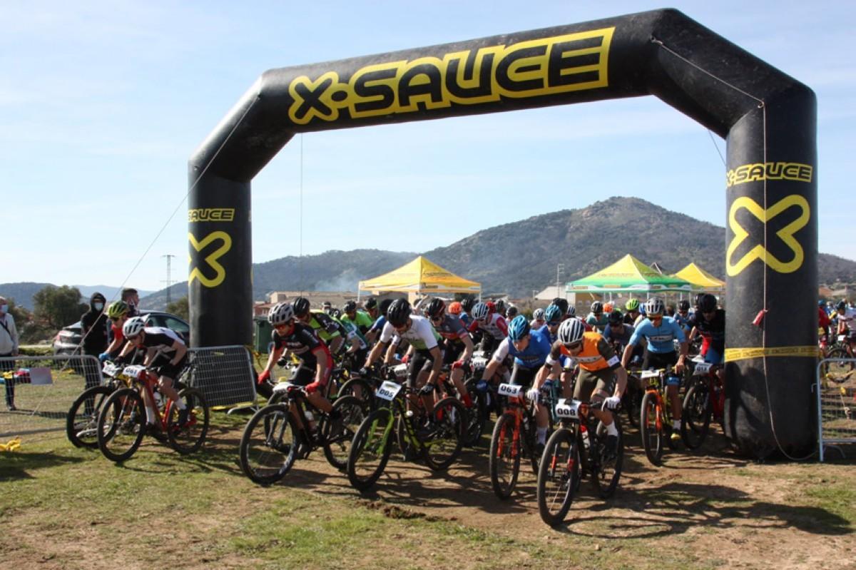 Luca Pérez y Josefina Casadey lideran la Super Cup Uves Bikes-X Sauce de XCO