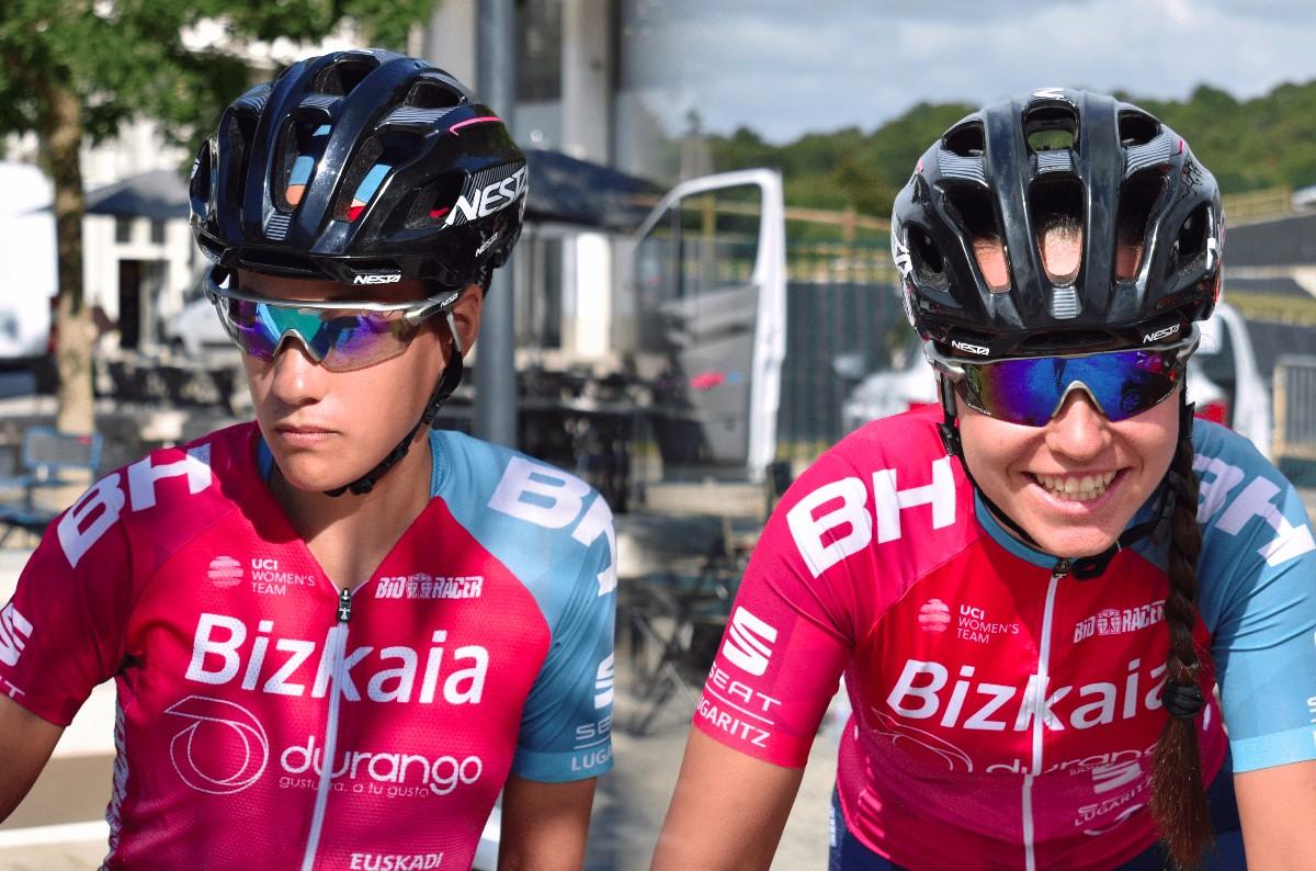 Lucía González y Ariana  Gilabert renuevan con Bizkaia-Durango