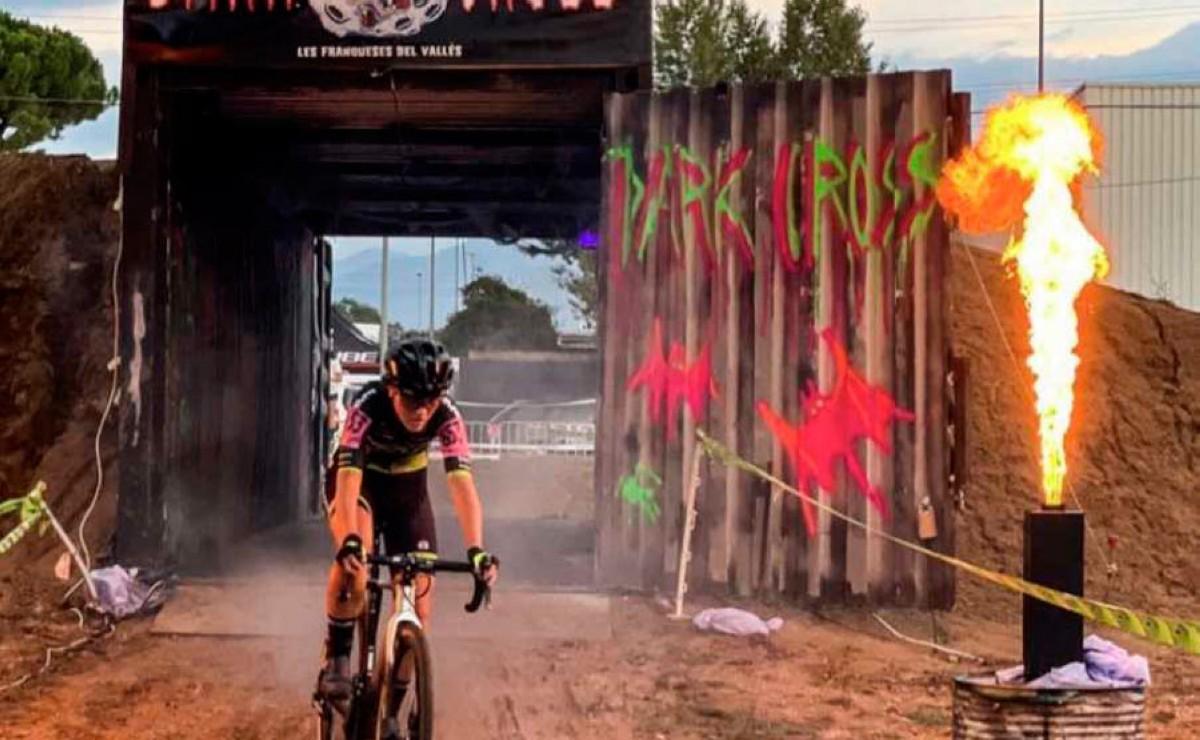 Lucía González y Kevin Suárez protagonistas en el arranque de la Copa Catalana de ciclocross 2021