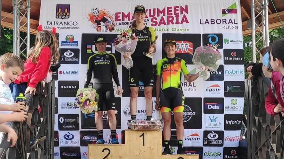 Lucy Kennedy logra la victoria en la Durango-Durango