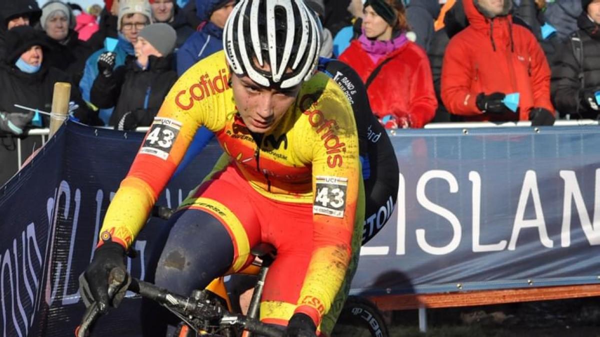 Luisa Ibarrola, puesto 26, mejor española en la carrera Sub23 del Mundial CX