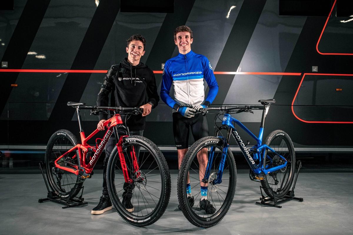 Marc y Alex Márquez se unen a Mondraker para entrenar con la F-Podium RR