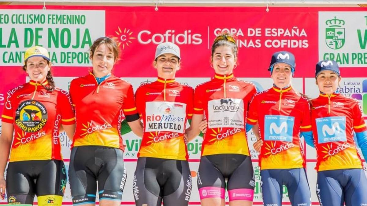 María Martins fue la más rápida en Noja