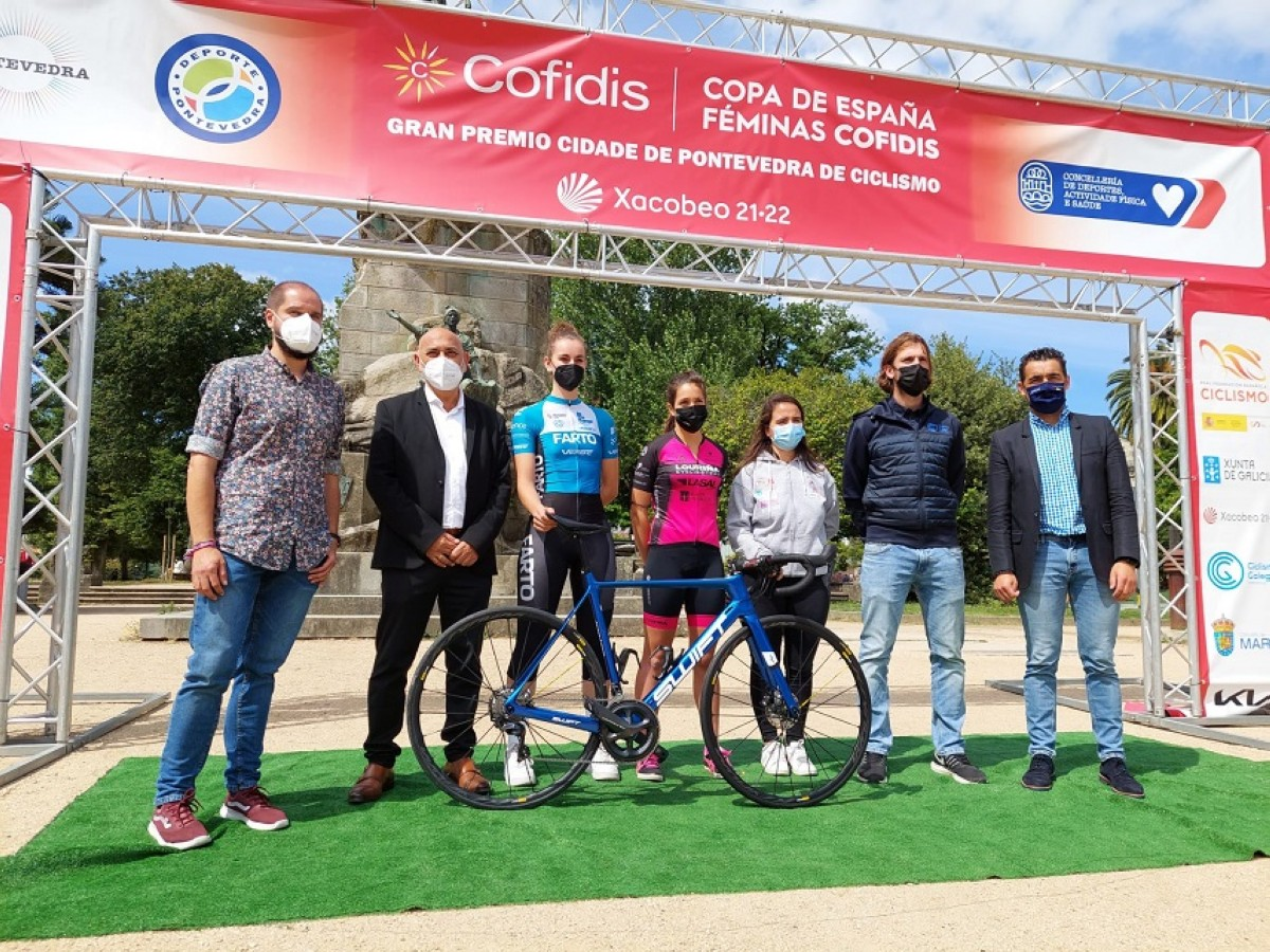 Más de 400 corredoras se citan en Pontevedra para la quinta prueba de la Copa de España Féminas Cofidis