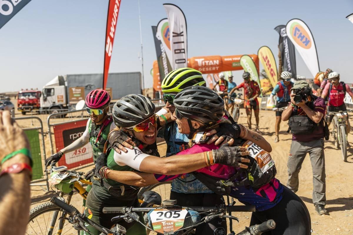 Miguel Muñoz se corona en la etapa más larga y difícil de la Titan Desert 2021