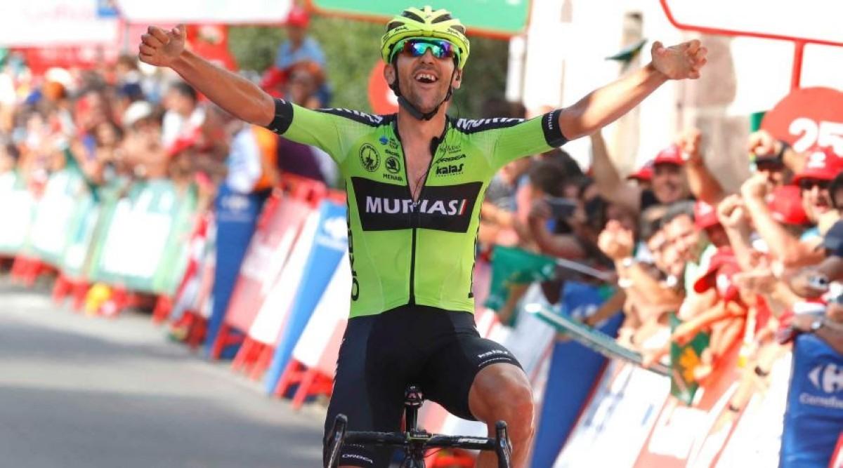 Mikel Iturria logra un gran triunfo para el Euskadi-Murias en La Vuelta
