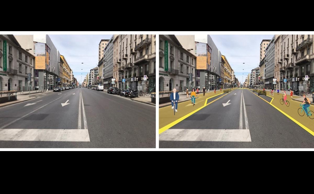 Milan se transformará para dar prioridad a ciclistas y caminantes