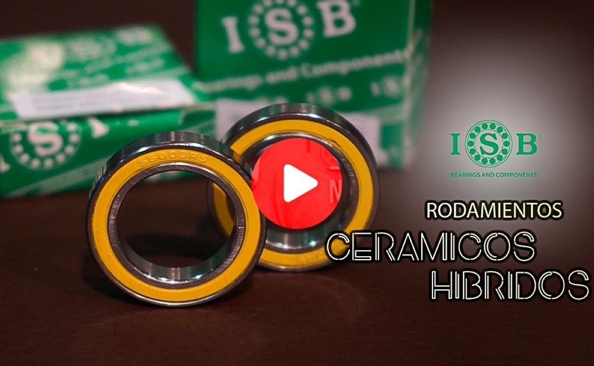 Rodamientos ceramientos híbridos ISB