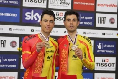 Mora y Torres suman otra medalla en los mundiales de Londres