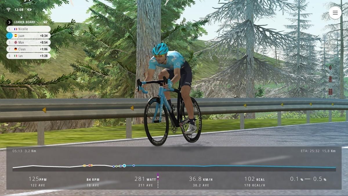Movistar lanza el Movistar Virtual Cycling
