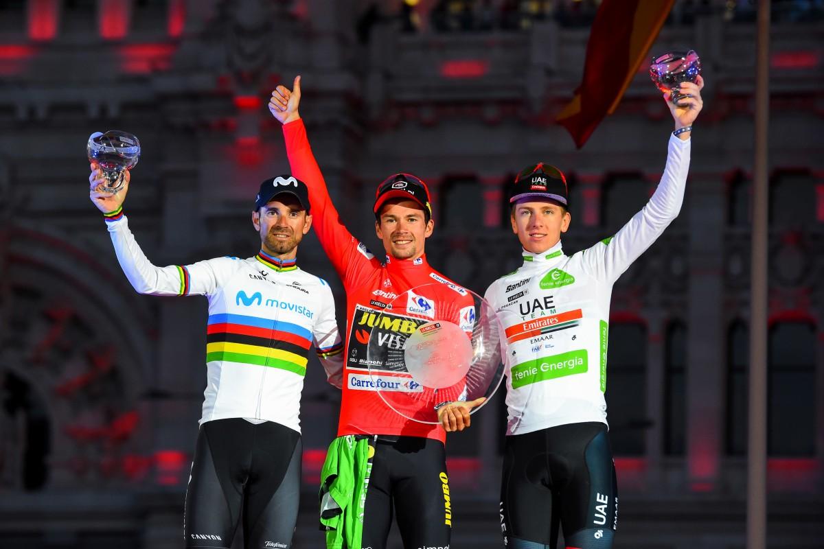 Movistar Team, 40 años en el podio de La Vuelta