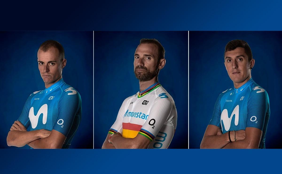 Movistar Team no se reserva nada para la Vuelta a Burgos 2020