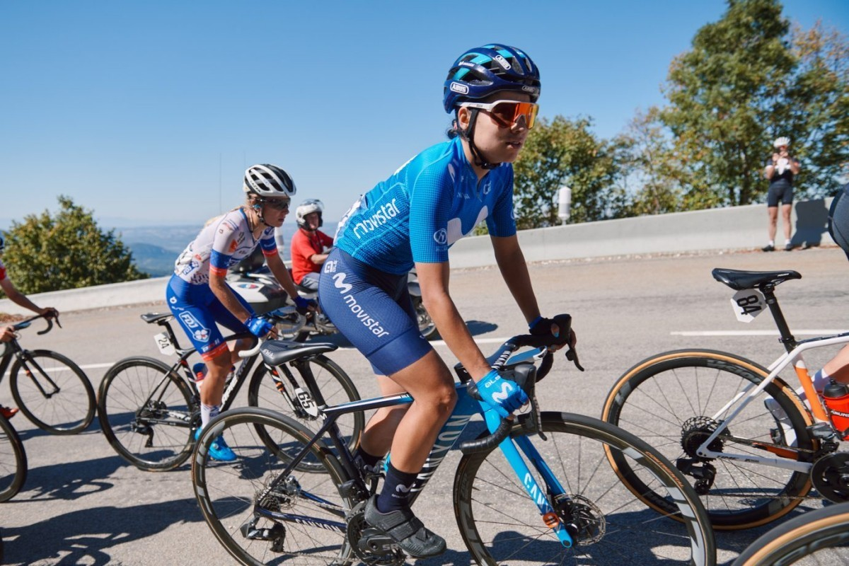 Movistar Team preparado para participar en su tercer Giro Rosa