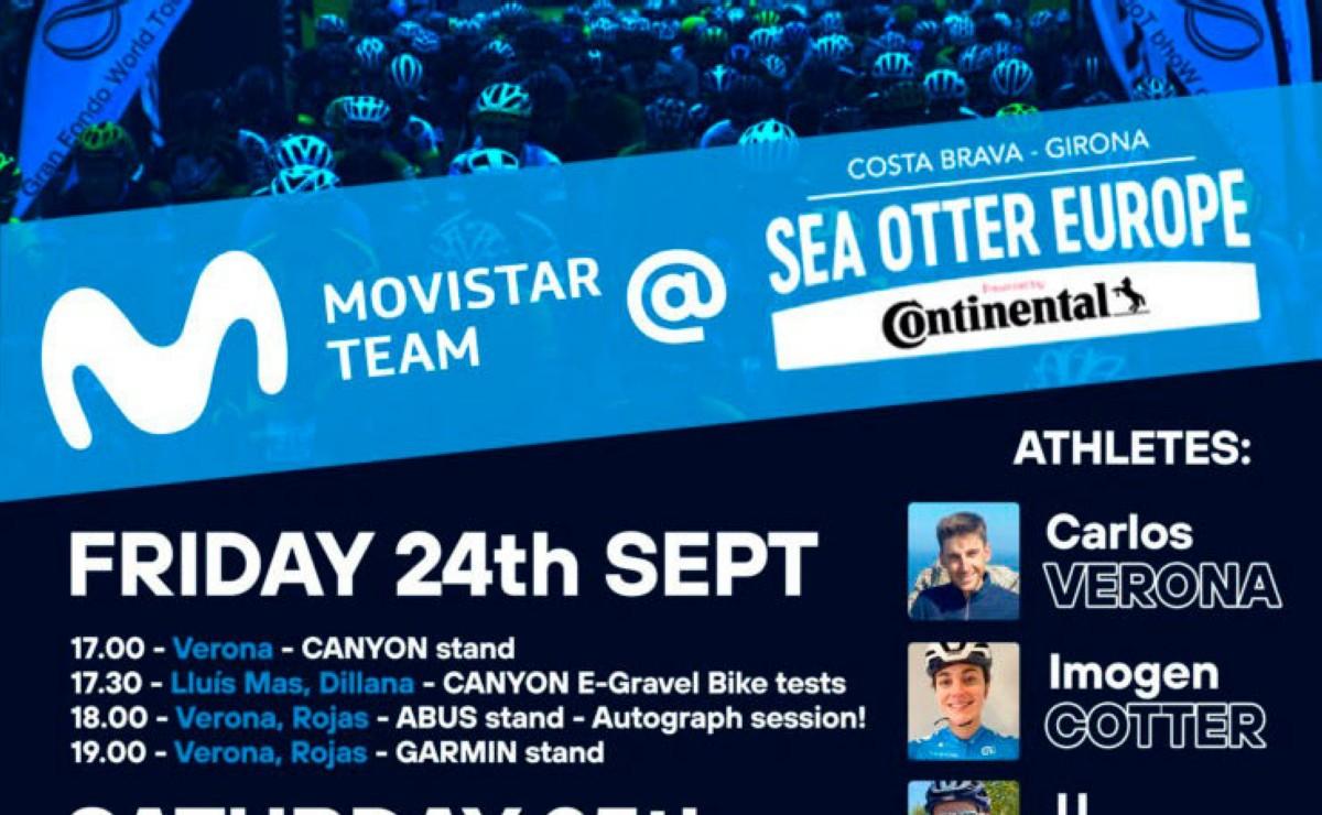 Movistar Team será uno de los protagonistas en Sea Otter Europe
