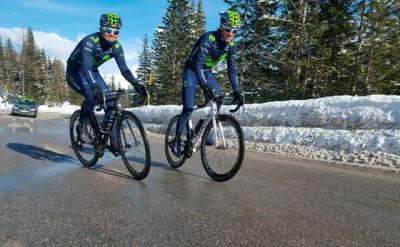 Movistar Team ya prepara el Giro de Italia