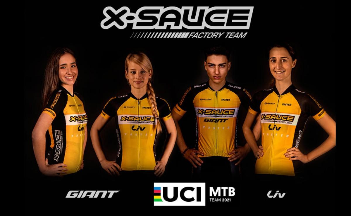 Nace un nuevo equipo de MTB, el X-Sauce Factory Team