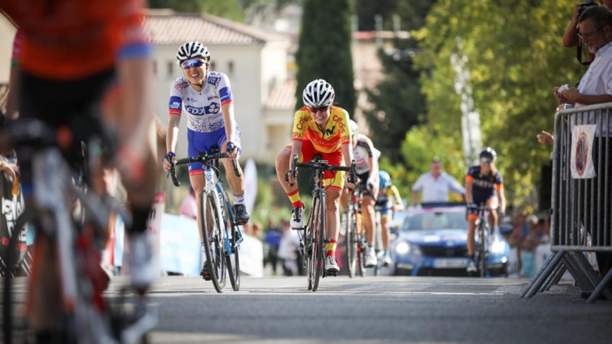 Novena plaza para Enara López en la cuarta etapa del Tour de Ardeche