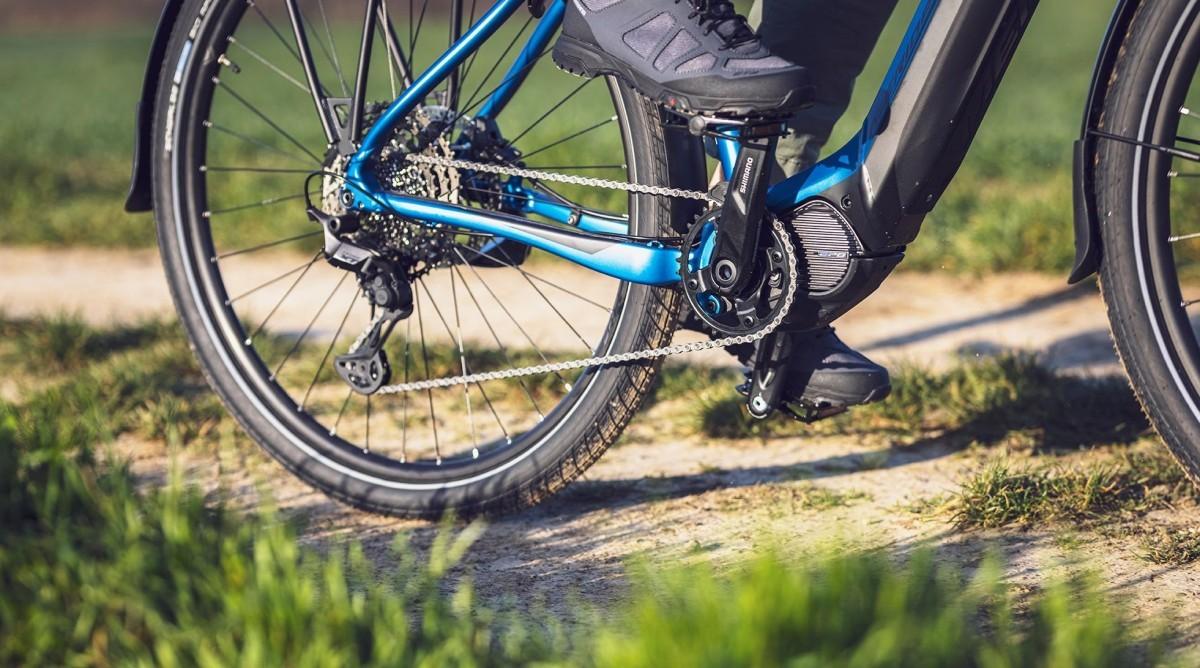 Nueva tecnología LINKGLIDE de Shimano para e-Bikes